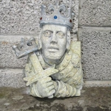 Cast Granite with Lead Features (King)