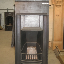 Cast Iron Bedroom Style Fireplace BFP08