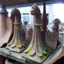 Clay Roof Finial 003