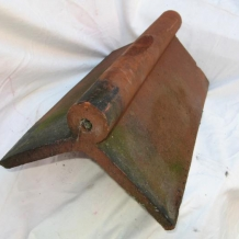 Clay 18 Inch Roll Top Ridge Tile