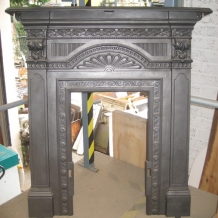 Cast Iron Bedroom Style Fireplace BFP10