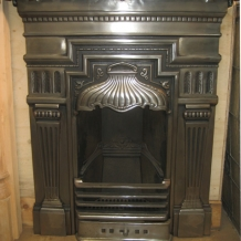 Cast Iron Bedroom Style Fireplace BFP04