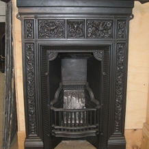 Cast Iron Bedroom Style Fireplace BFP07