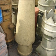 Clay Witches Hat Chimney Pot