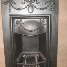 Cast Iron Bedroom Style Fireplace BFP05