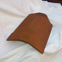 Clay Exotic Ridge Tile