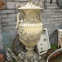Yellow Clay Urn