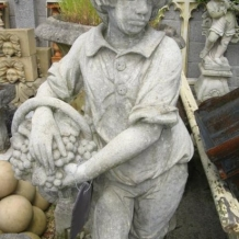 Cast Stone Statue of Boy