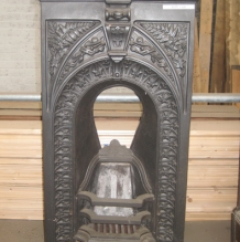 Cast Iron Bedroom Style Fireplace BFP11