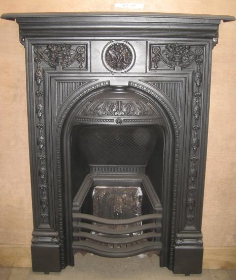 Cast Iron Bedroom Style Fireplace Bfp03