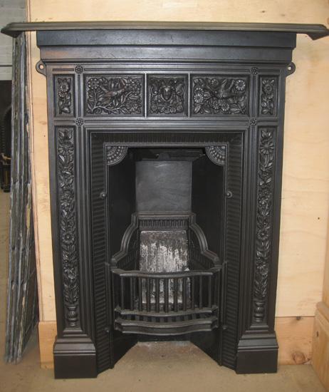 Cast Iron Bedroom Style Fireplace Bfp07