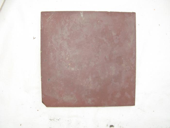 Victorian 6 X 6 Inch Red Quarry Tile
